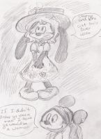 PVP Mickey's Love Tips sketches part 1 by dnxlightangel