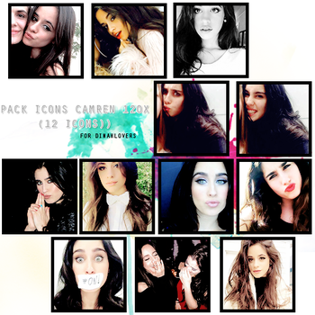 Pack Icons Camren by awnbieber