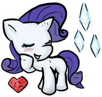 Lil' Rarity by Zutcha