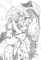 Poison Ivy (for fun) by wgpencil