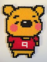 winnie the pooh by felinescubicle