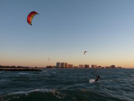 Kitesurfing One by babynuke