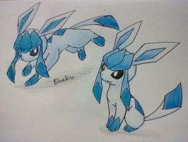 Glaceon Colours by Bluekiss131