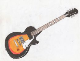 Ray's guitar by AZX309
