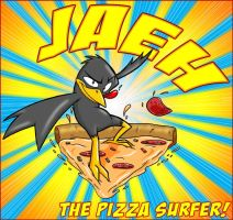 Jaeh The Pizza Surfer by GreyOfPTA