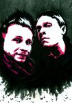 Shinedown - Brent and Zach 9 by weedenstein
