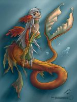 Mermaid, Daimida by MissingHorcrux