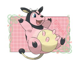 Miltank by kawaiipikachu12