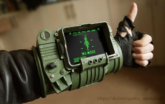pipboy. 3d printing. work for contest. by idushiy