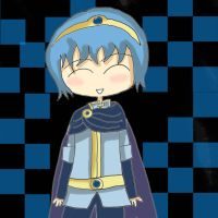 Chibi Marth by girlz-rock