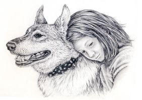 Emma and The Wolf by Cyle