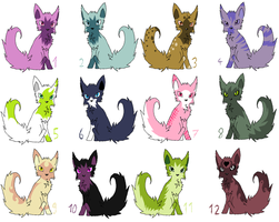 Poochyena Adoptables CLOSED by Psunna