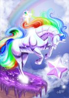 Robot Unicorn Attack by Queen-Uriel