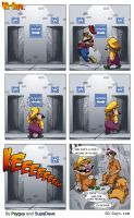 GGguys 56 Where's Wario by SupaCrikeyDave