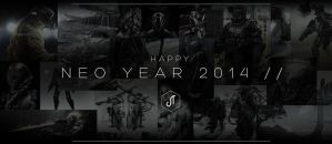 Happy Neo Year 2014 by johnsonting