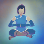 Korra by jourple