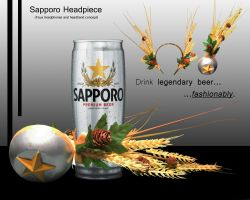 Sapporo Headpiece Concept by Moonbei