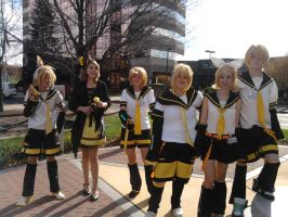 ALL THE KAGAMINES by PockyBoxxProductions