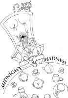 Midnight Madness lineart by MonocleBunny