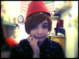 Hetalia- Istant North Italy with Doctor's fez by Artieukchan