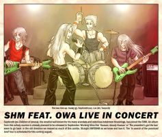 SHM feat. OWA live in concert by Bowie-Spawan
