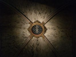 Notre Dame Cathedral Ceiling by chribob