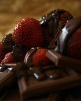 Chocolate and Strawberries 2 by NerdyArtist