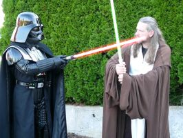 Darth Vader Duell by Quigonjinncosplay