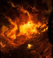 Embers - Mount Doom by elvaniel