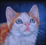 Clawed (Monet) - Miniature Oil Unframed by AstridBruning