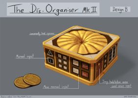 Discworld Project - The Dis-Organiser (design B) by ZacharyHogan