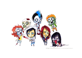 Creepy Yet Adorable...in color by zombieblood