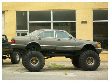Mercedes 4X4 by TheMan268