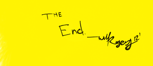 The End. by MisterRawgers