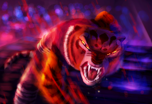 Tigress Bloodlust by Foxeus