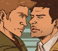 idk man destiel by stehfuhknee