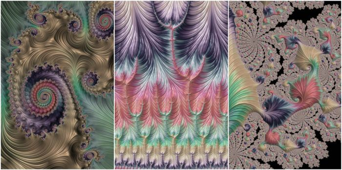 Colorful Fractals by Kaleiope-Studio