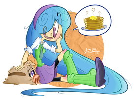 Waffle Lover by RedBlooper