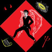 Good Omens- Crowley by edcentricOo