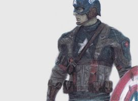 Captain America by 221b-gallifrey