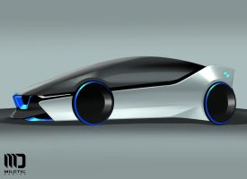 BMW MRacer concept by Morfiuss