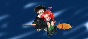 Harry and Ginny 2 by Sahan