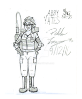 Abby Yates -Sketch- by PL125