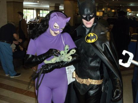 Bat and Cat (and hydra) by annoyinglizardvoice