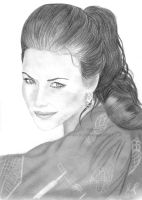 Evangeline Lilly 01 by Ilojleen