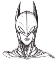 Batgirl Cowl by ConstantM0tion