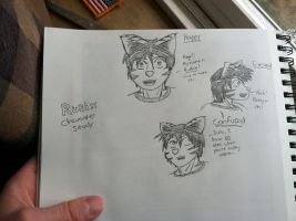 Rubix Character Study Sketch by MoodyShooter