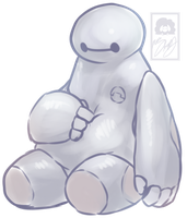 Baymax by Miss-Sheepy