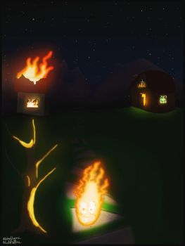 A little fire can destroy everything by Raspulliver