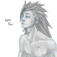 F F 7 - Zack by roolph
